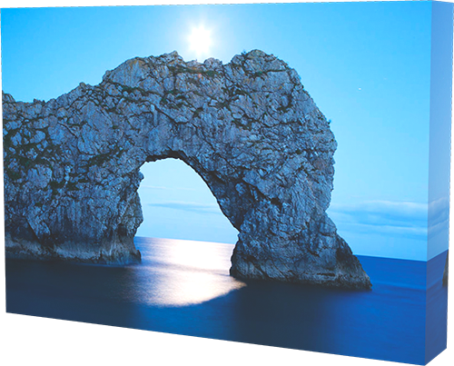 Durdle Door - box canvas example