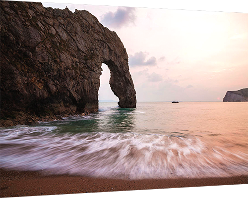 Durdle Door - metal print example