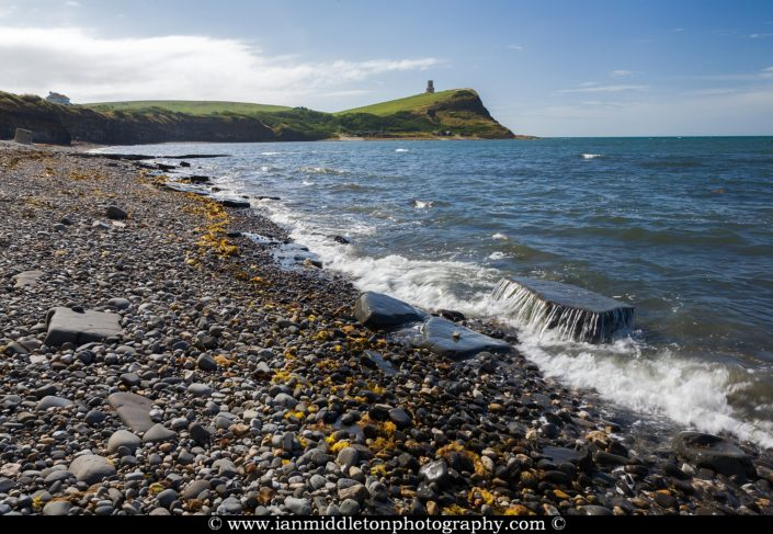 The beautiful coastal landscape at Kimmeridge bay in Dorset. This is one of the many wonders to be found on the Jurassic coast, an UNESCO world heritage site.