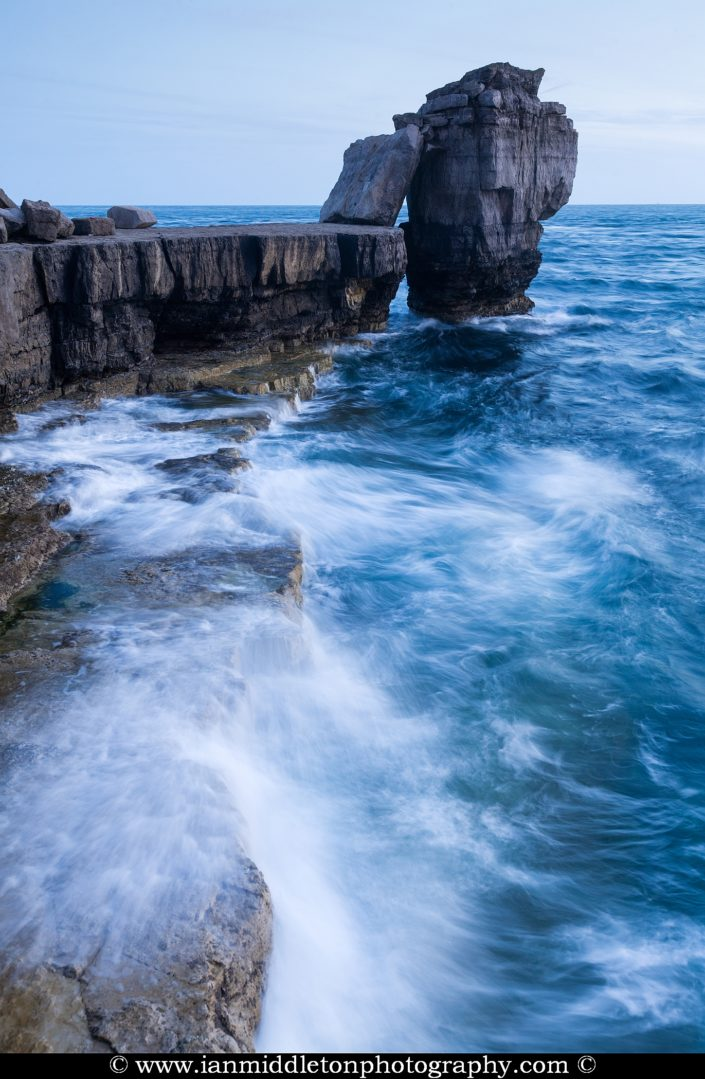 Pulpit rock at Portland Bill, near Weymouth, Jurassic Coast, Dorset, England.