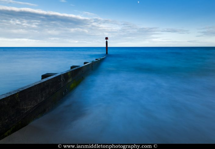 Bournemouth Beach groyne, Dorset, England