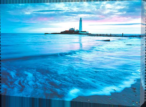 Saint Mary's Lighthouse canvas print example