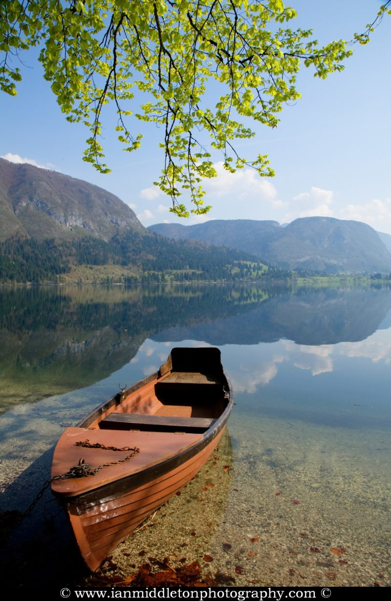 Lake Bohinj , Triglav National Park , Slovenia