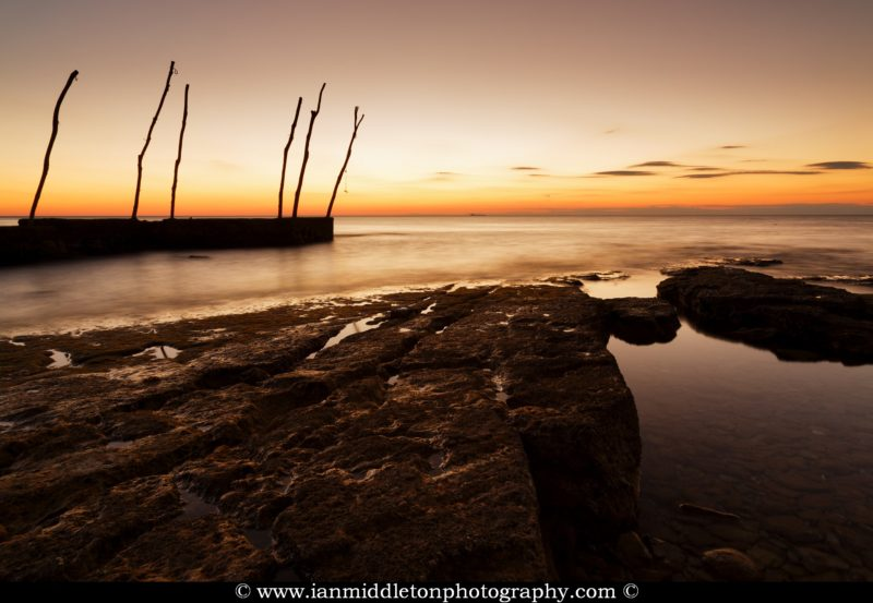 Sunset at basanija, near Savudrija, Istria Coast, Croatia.