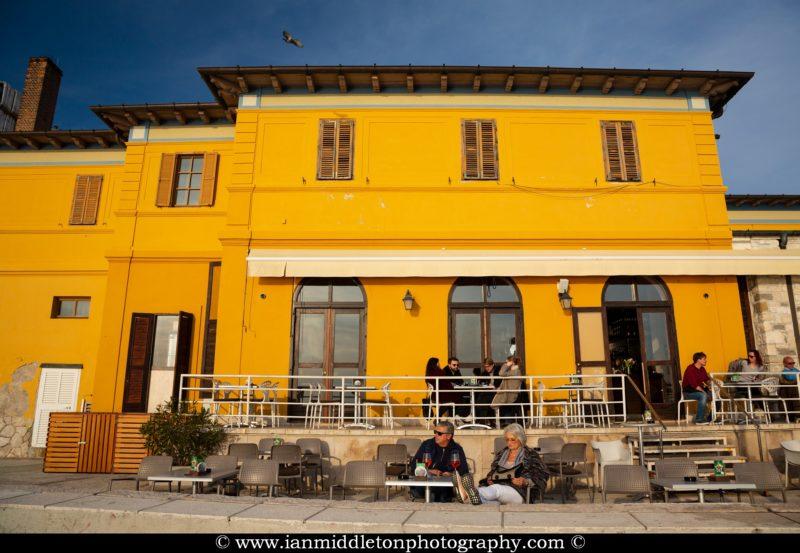 Cafe Teater in Piran, Slovenia