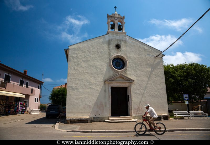 The Church of St. Lovro in Premantura, Istria, Croatia