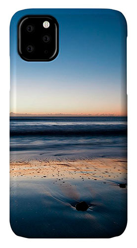 Sunrise at Ballynaclash Beach in County Wexford, Ireland on iphone cases