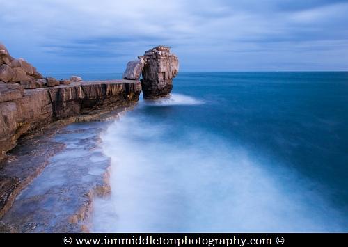 Pulpit Rock at Portland Bill, near Weymouth, Jurassic Coast, Dorset, England.