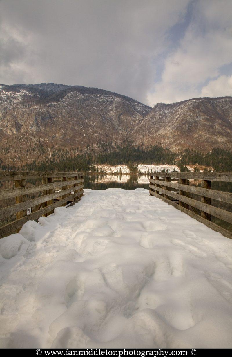Lake Bohinj , Triglav National Park , Slovenia