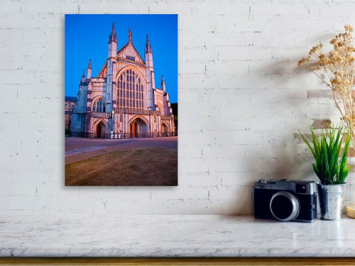 Winchester cathedral acrylic print example.