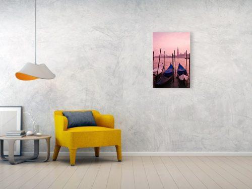Venice sunset - acrylic example