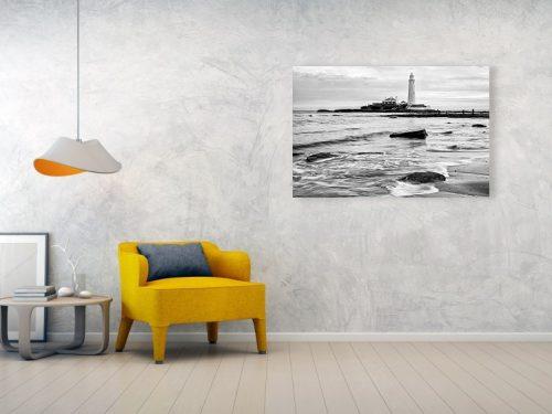 Saint Mary's Lighthouse acryllic print example